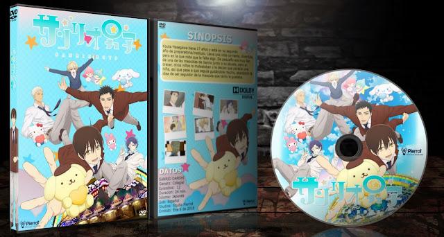 Sanrio Danshi | Cover DVD |