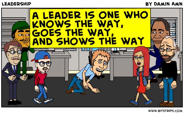 ¿Quién es un líder?