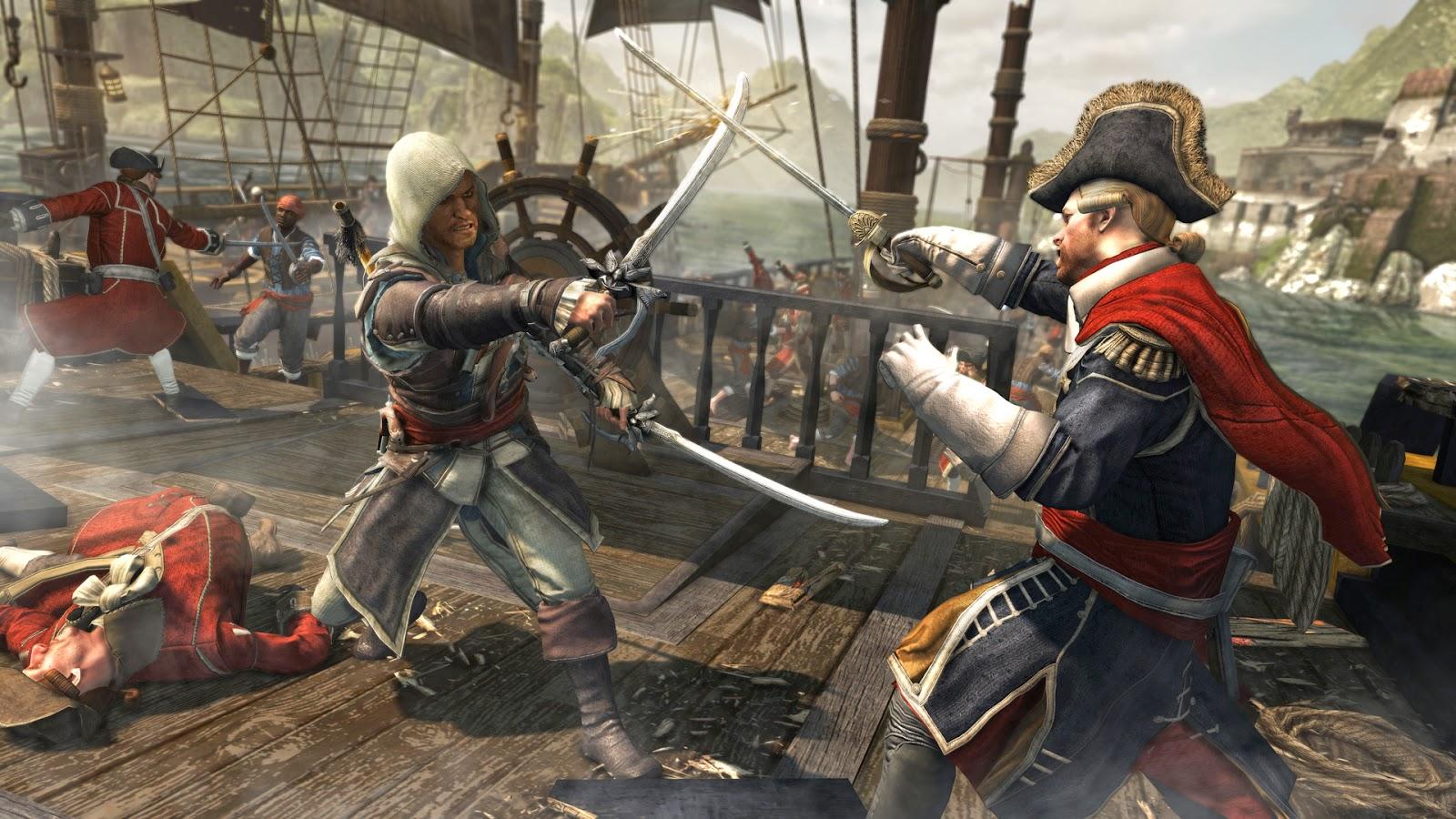 Assassins Creed IV Black Flag PS3 free download full version