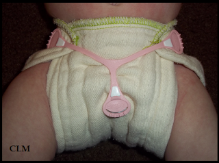 Sweet Pea Diaper Cover & Prefold