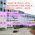 B.Tech/ B.Pharmacy I Year  R15  III - Mid Exam Time Table   March/April  - 2016