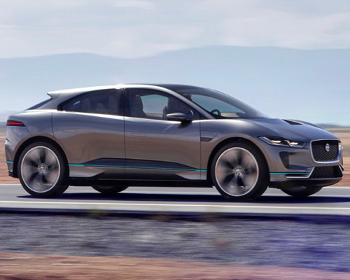 Tinuku.com Jaguar I-Pace SUV electric-powered ready on 2018, news from Los Angeles Auto Show 2016