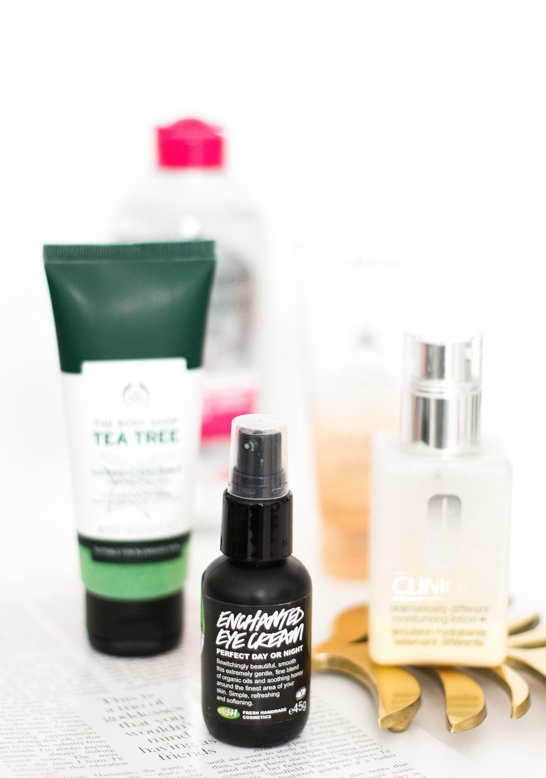 Skincare products   Lush enchanted eye cream