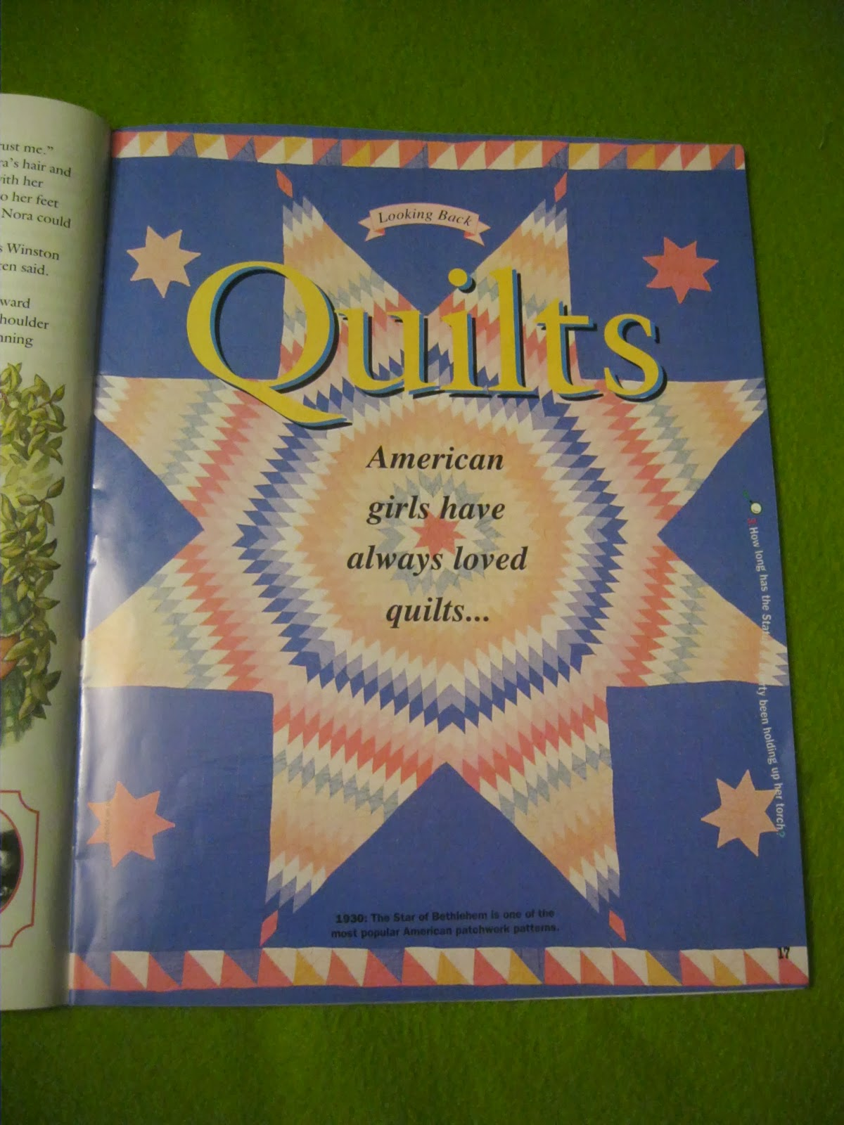 American Girl Outsider Magazine Monthly May June