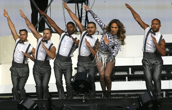 Jennifer Lopez Hyde Park Performance