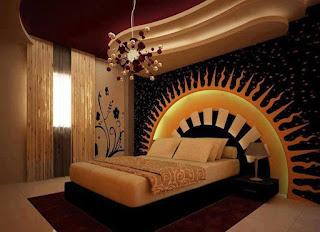 ديكورات جبس غرف نوم من شركة ارابيسك