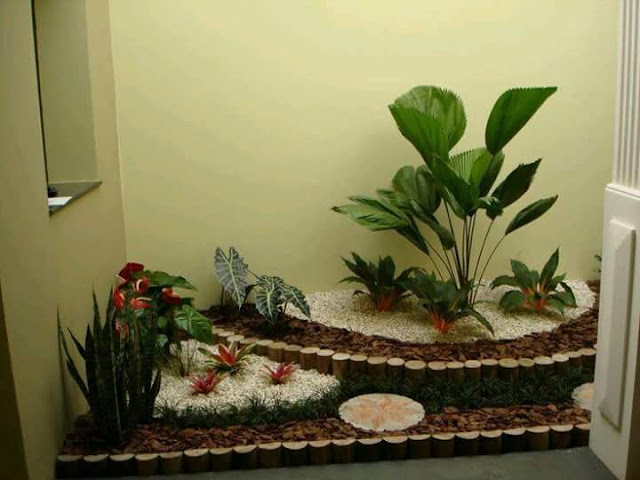 Gambar Taman Indah dan Asri Cocok Untuk Rumah Minimalis