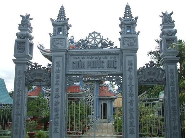 Cổng Chùa Phước Huệ Sa Đéc