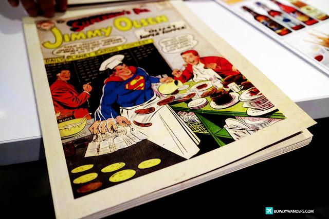 bowdywanders.com Singapore Travel Blog Philippines Photo :: Singapore :: DC Comics Superheroes Café: Every Hero's Cafe Kryptonite