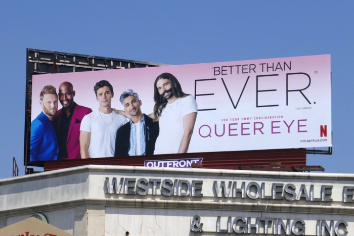 Queer Eye 2019 Emmy FYC billboard