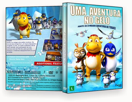 DVD – Uma Aventura No Gelo – ISO