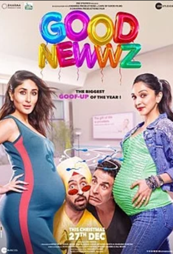 Good Newwz (2019), Country: India Language: Hindi | English, watch trailor