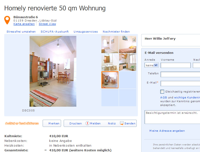 homely renovierte 50 qm wohnung informationen ber wohnungsbetrug. Black Bedroom Furniture Sets. Home Design Ideas