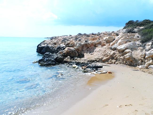 Faragas beach Paros island