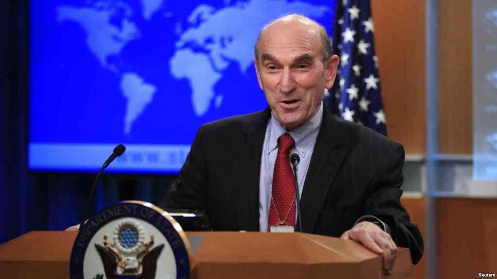 El enviado especial del departamento de Estado para Venezuela, Elliott Abrams / REUTERS