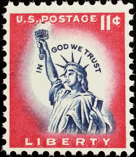 1961 11c Statue of Liberty
