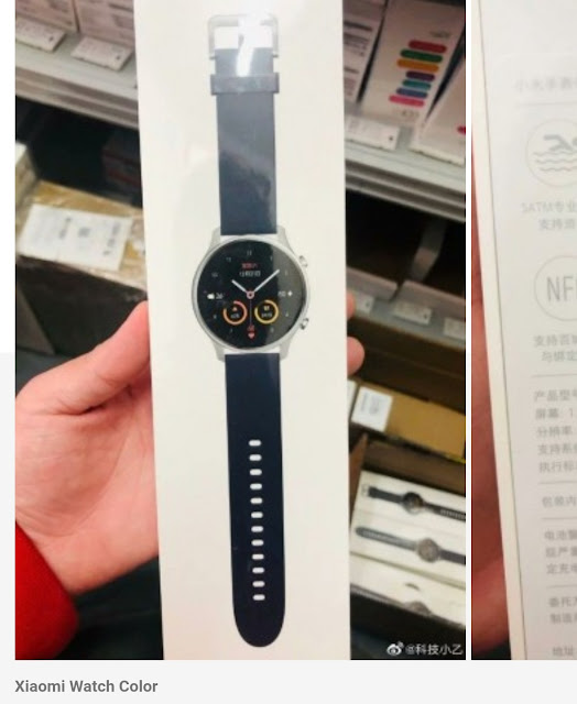 Xiaomi Watch Color Leakek Image