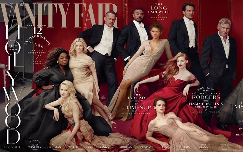 Yılın Beklenen Kapağı : Vanity Fair