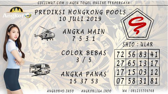 PREDIKSI HONGKONG POOLS 10 JULI 2019