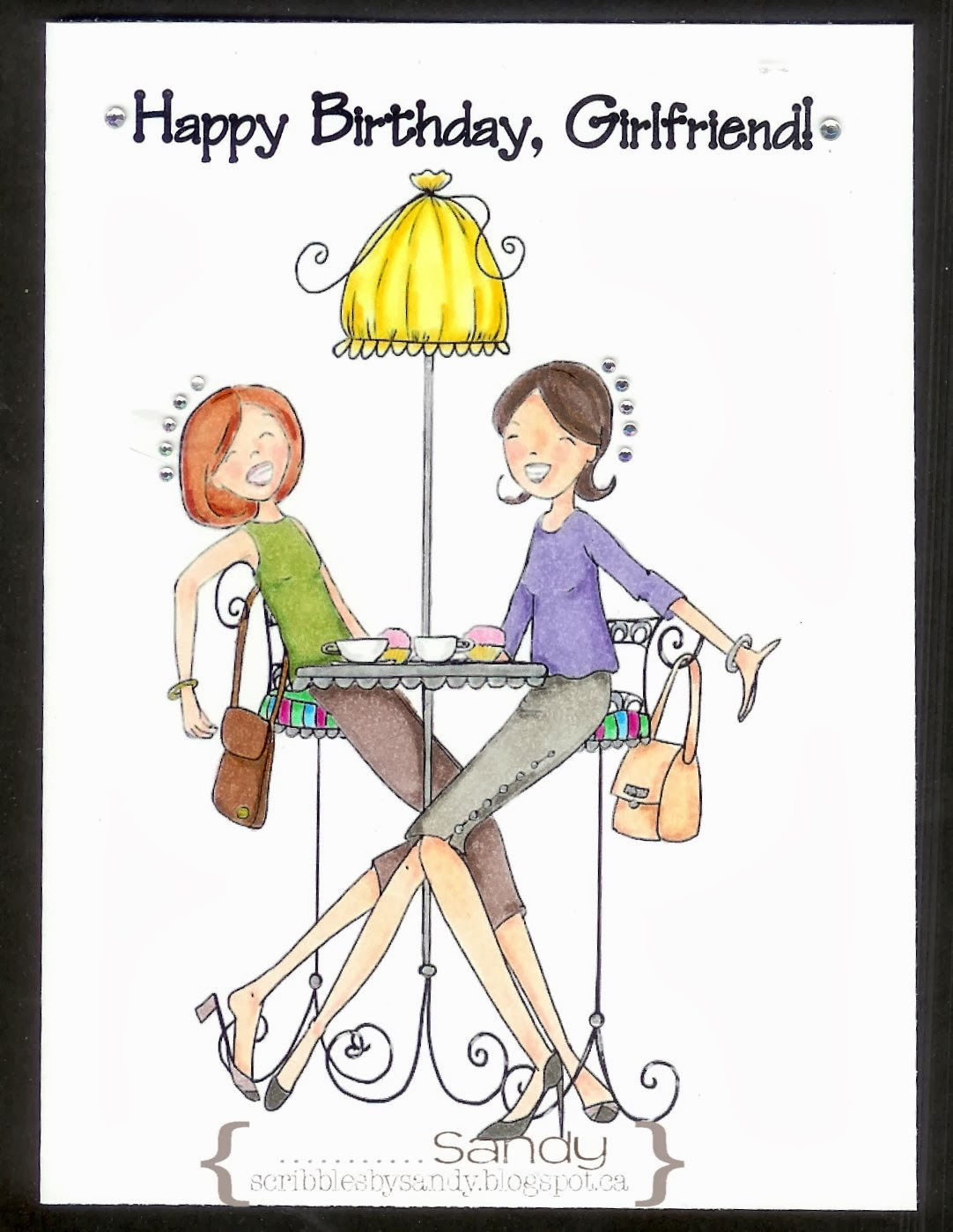 Happy Birthday Quotes Best Friend Girl: Scribbles By Sandy: August 2013