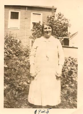Alice Karvoius [Alexandra Rimkus Karvojus], Elizabeth, NJ. 1928.
