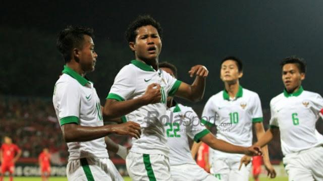 Kerjasama Bagas Kaffa-Bagus Kahfi Bawa Timnas U-16 Indonesia Unggul 3-1 Atas Vietnam