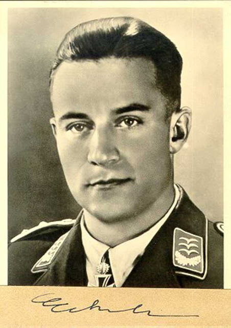 Luftwaffe ace Franz Eckerle shoots down three Red Air Force planes on 28 January 1942 worldwartwo.filminspector.com