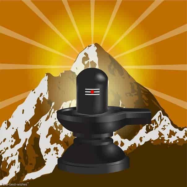 maha shivratri shivling image