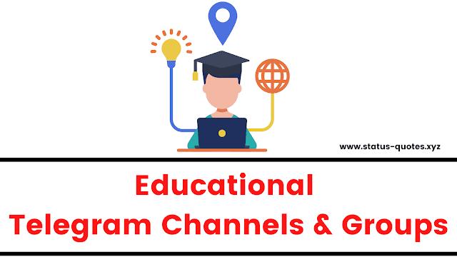 【BEST】Educational Telegram Channels List 2021