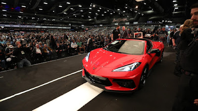 The World S First Chevrolet Corvette C8 Sold For P 152 5 Million Carguide Ph Philippine Car News Car Reviews Car Prices
