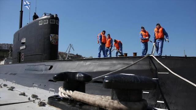 """EEUU, preocupado por """"peligro"""" de submarinos rusos en Mediterráneo"""