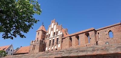 Toruń mury baszty