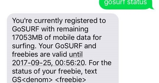 8gb Globe Bug For 45php 2018 Pinoytut