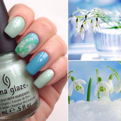 nail-art-azzurro-verde-primavera