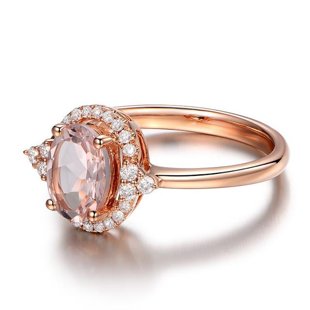 Rose Gold Wedding Rings Uk