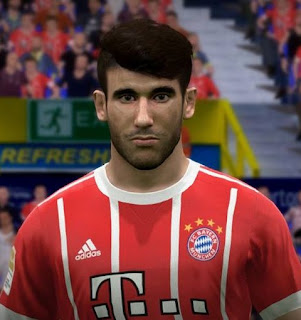 PES 2017 Faces Javi Martínez by FaceEditor Jefferson_SF