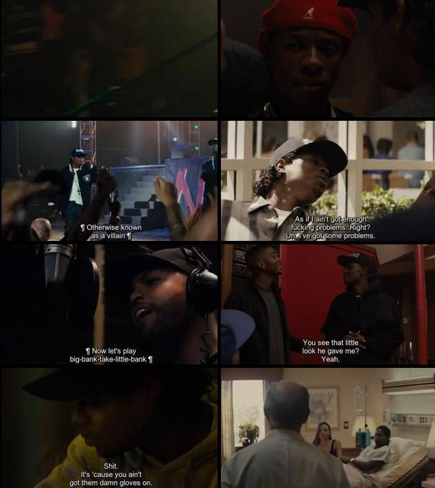 Straight Outta Compton 2015 English 480p WEB-DL 400mb ESubs