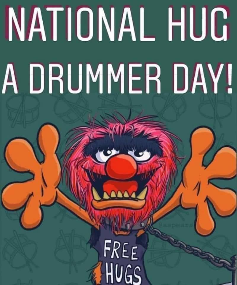 National Hug a Drummer Day Wishes Images download