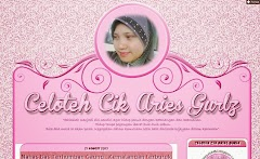 Tempahan Design Blog: Blog Celoteh Cik Aries Gurlz