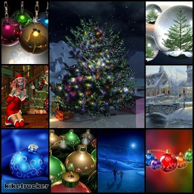 Fondos navideños 3D