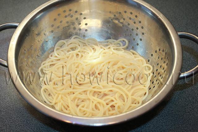 рецепт зеленых спагетти от джейми оливера из книги 5 ингредиентов с пошаговыми фото