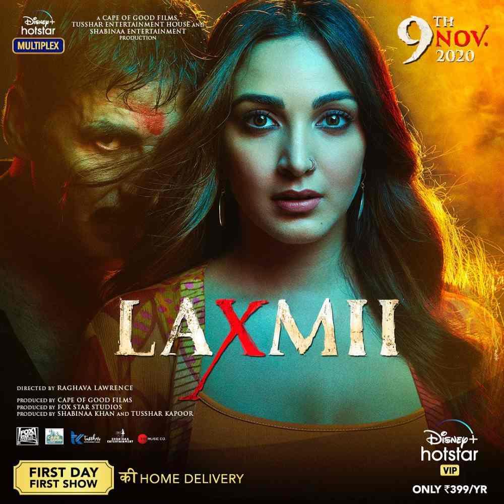 Laxmii Bomb (2020) Full Movie Download 480p (300mb) worldfree4u