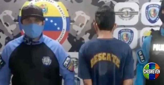 Chavista detenido por grabarse abusando de su hijastra de 1 año de edad