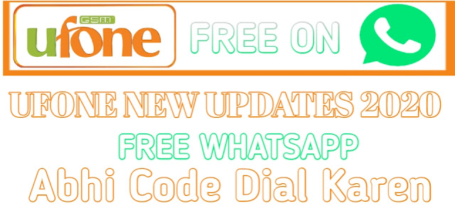 How To Get Free Net On Ufone