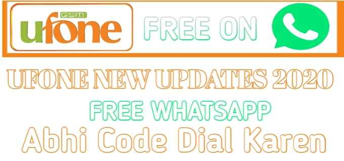 How To Get Free Whatsapp On Ufone