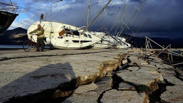 زلزال بقوة 7،2 درجة بضرب جزر إندونيسية