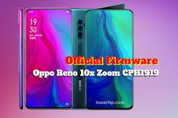 Firmware Oppo Reno 10x Zoom CPH1919
