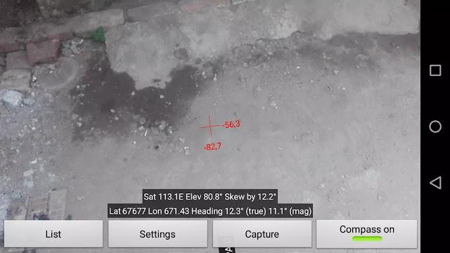 mencari arah satelit 113 E