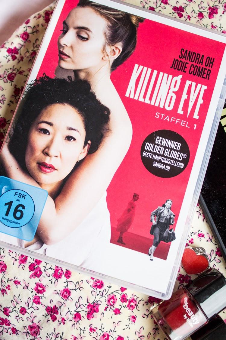 5 Gründe Killing Eve, Killing Eve Rezension, Serienjunkie, Filmblogger