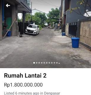 Dijual Rumah lt2 Pemogan Denpasar